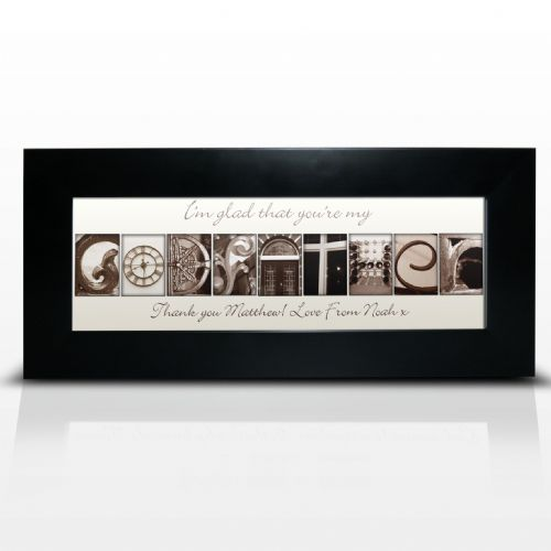 Personalised Affection Art Godfather Frame